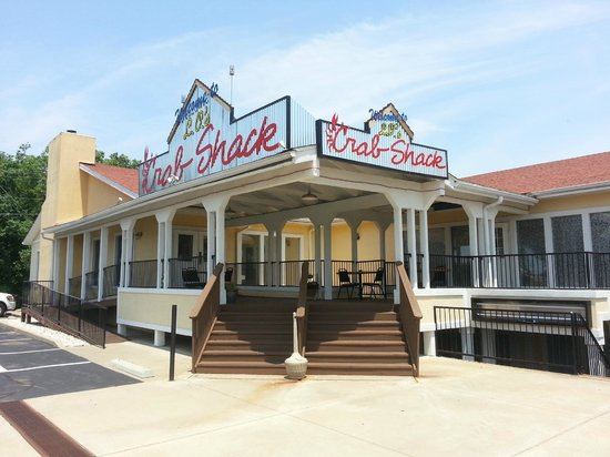 LO's Crab Shack: Photo of outside of building from parking lot