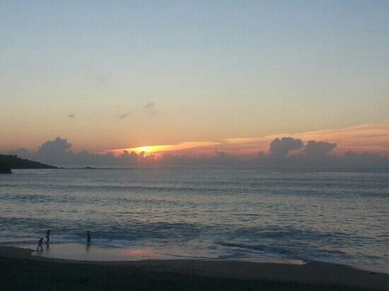 Westcliff Bed & Breakfast: Sunset