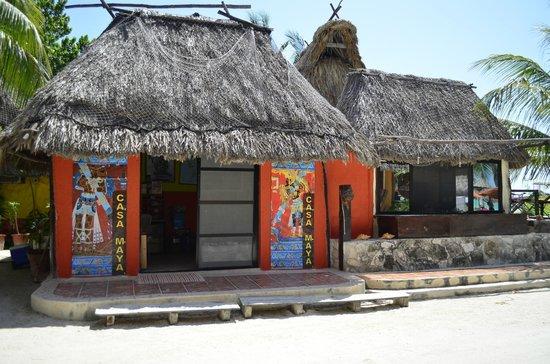 Casa Maya Holbox : recepcion