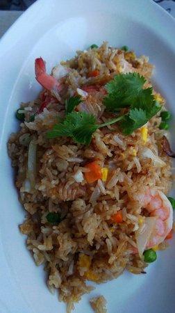 Mango on Main: Prawn fried rice