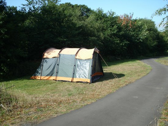 Greenways Valley Holiday Park: Camping Area