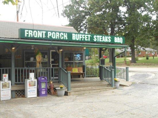 Front Porch Restaurant: Great Buffet