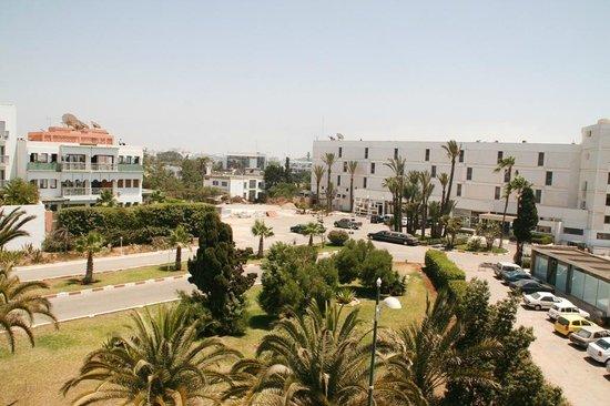 Hôtel Tildi & SPA : Blick nach vorne