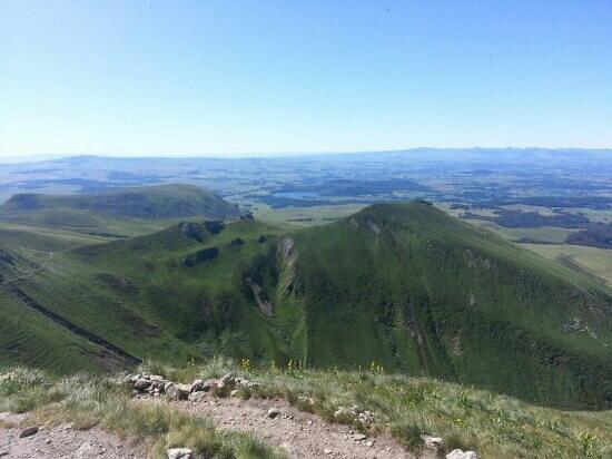 Le Mont-Dore, فرنسا: une des  vues du sommet
