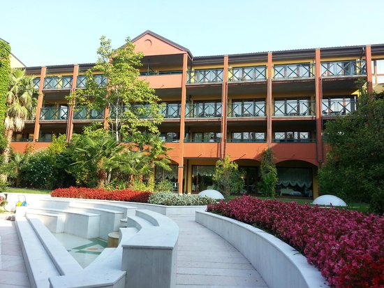 Parc Hotel Gritti : Innenhof