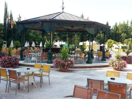 Parc Hotel Gritti : Poolpavillon
