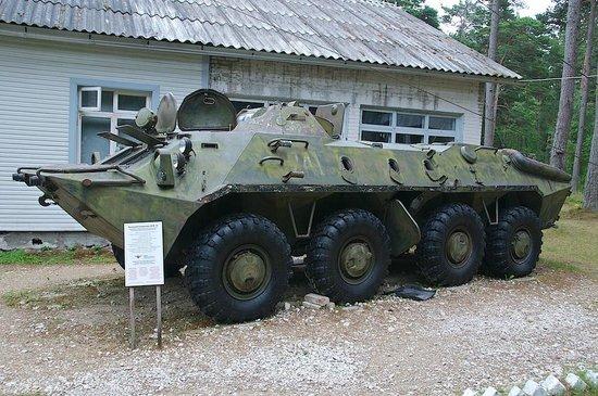 Korgessaare, Estland: BTR-70
