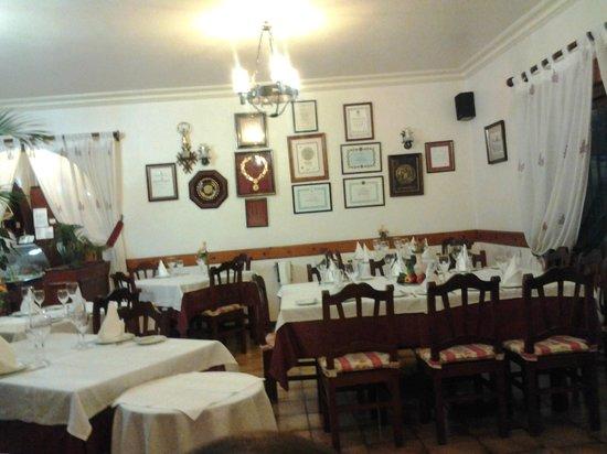 Restaurante La Ermita: Interior del restaurante