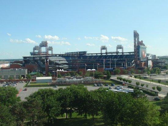 Holiday Inn Philadelphia Stadium : View from my room of the Phillies ballpark