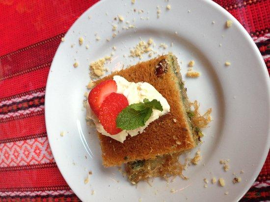 Karma Mediterranean Grill & Bistro: Tastiest dessert!