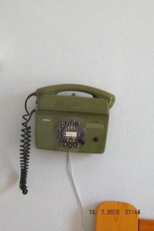 Grivas Hotel : Le téléphone