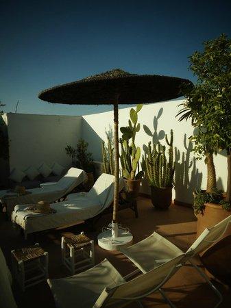 Riad les Orangers d'Alilia Marrakech: Rooftop terrace