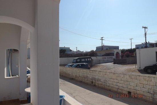 Grivas Hotel : La vue du balcon
