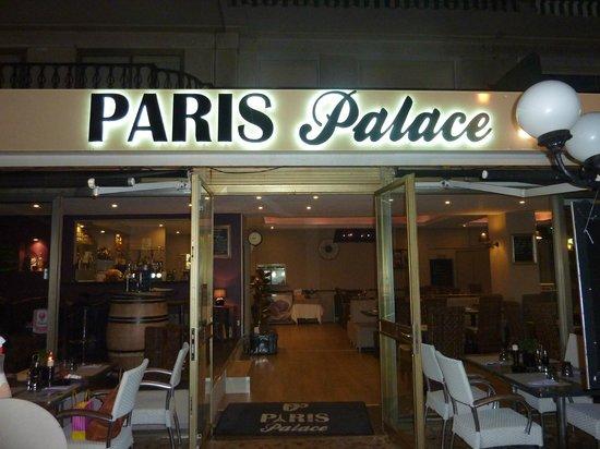 Le Paris Palace : The restaurant