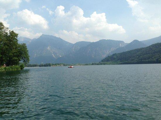 Hotel al Sorriso Greenpark & Wellness: lago e monti circostanti