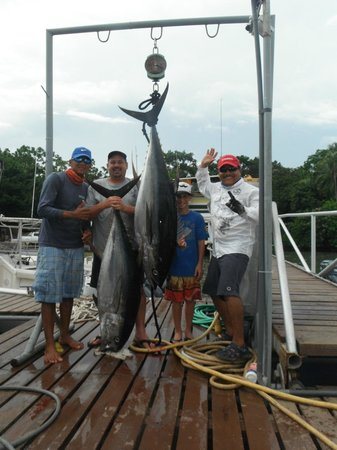 Panama Sport Fishing Lodge: Day 2 of Fishing the two big ones!