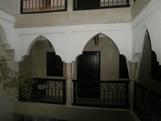 Vista interior Riad Alnais