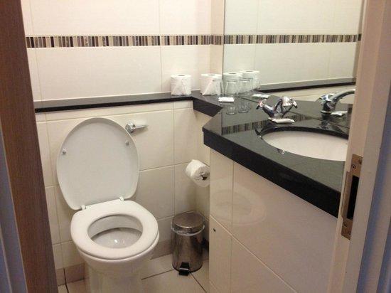 Tavistock Hotel: bathroom had a  shower and bath
