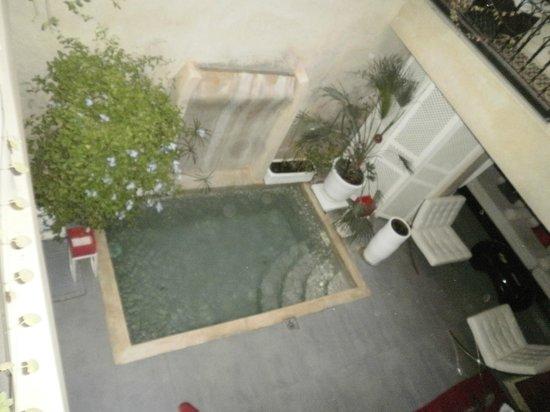 Piscina / sala de estar Riad Alnais