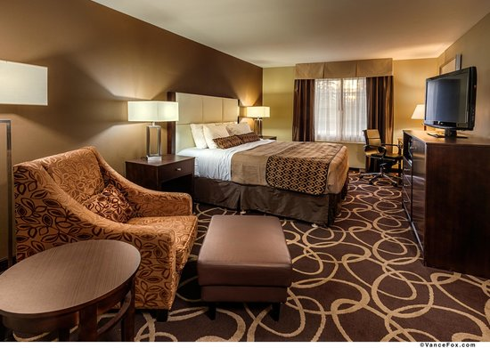 Best Western Plus Pioneer Park Inn : King Standard Room