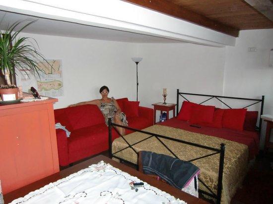 Bedaitetti: una delle camere