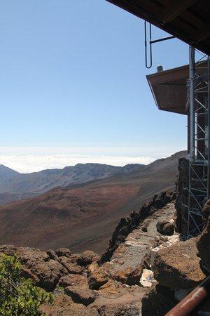 Haleakala Crater: Visitor centre