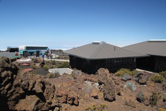 Haleakala Crater: Summit visitor centre