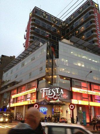 Thunderbird Hotels Fiesta Hotel & Casino: Frente del hotel