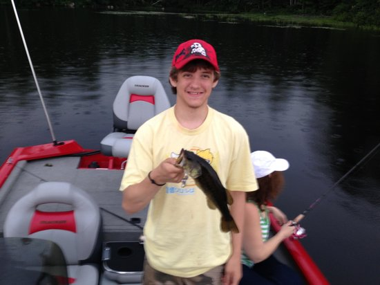 Barrington Shores Campground: Another great day of fishing