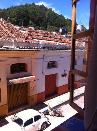 Puerta Vieja Hostel: buenos dias san cristobal!