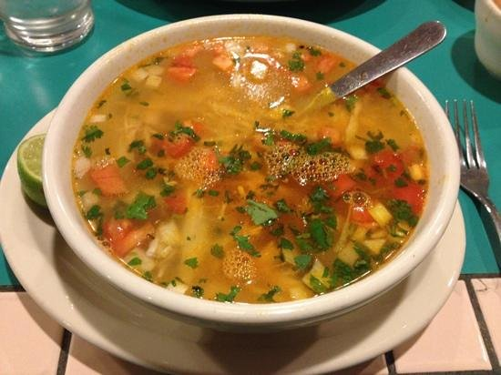 Acapulco Mexican Restaurant: Chicken Soup