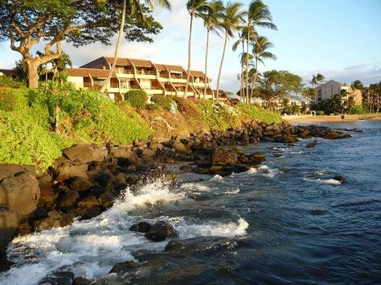 The Kuleana Resort: View from the sea ladder