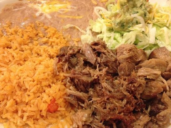 Acapulco Mexican Restaurant: Carnitas de Puerco
