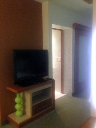 SpringHill Suites Provo: Flat Screen TV