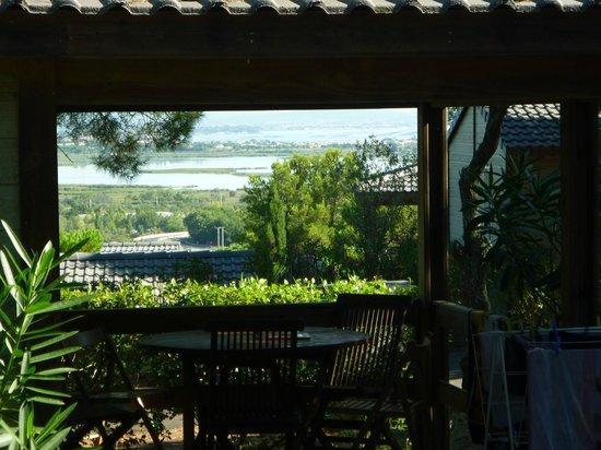 Résidence Les Pescalunes: Vue de la terrasse