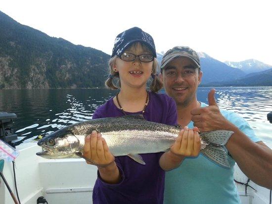 Pemberton Fish Finder: We love making Dads heros