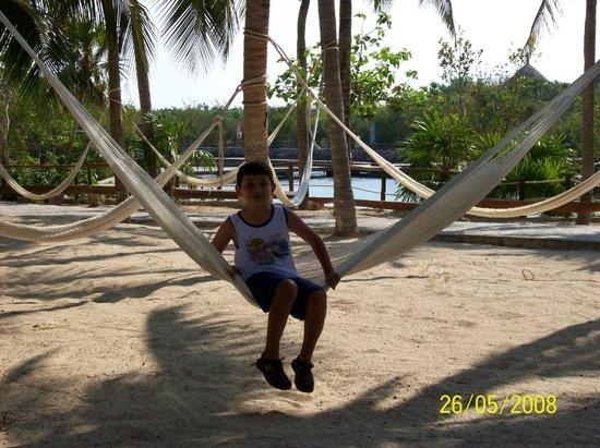 Wyndham Garden Playa Del Carmen: Hamacas de Xel-ha