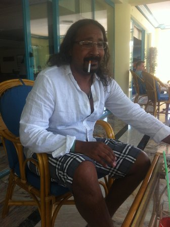 Luana Hotels Santa Maria: terrasse de l'hotel , belle vue et endroit calme pour boire l'apéro ;)