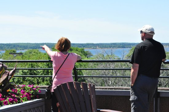 Rodd Charlottetown: Top of hotel roof