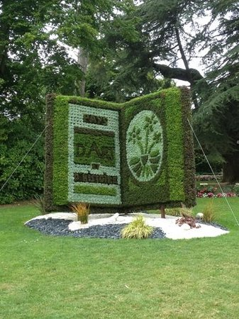 Jardin des plantes de Coutances : Coutances