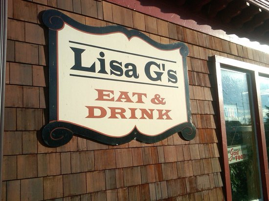 Lisa G's: Can't miss it!