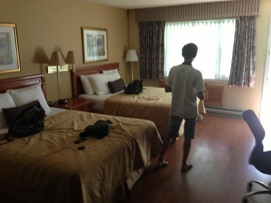 Country Squire Resort & Spa: la chambre