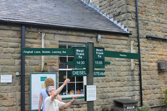 Wensleydale Railway : time gone by