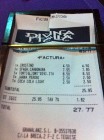 Divina Italia : Cuenta