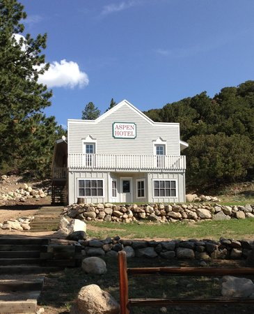Young Life's Trail West Lodge: One of the many buildings that make Trail West an Authentic Wild West adventure for our family!