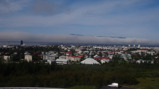 Icelandair Hotel Reykjavik Natura: Vista del Reykjavik desde La Perla