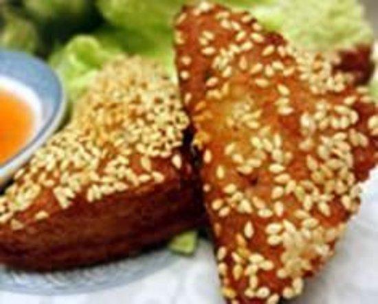 Hunan Garden: Shrimp Toast