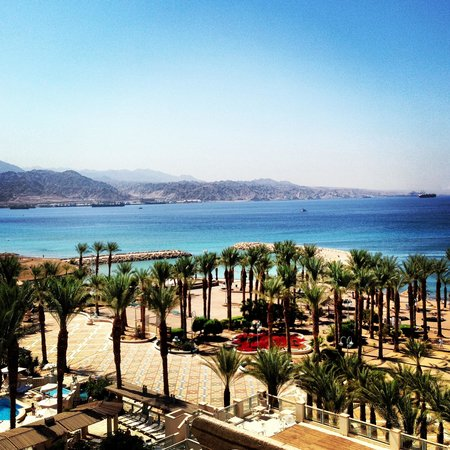 Herods Vitalis Spa Hotel Eilat: Beautiful view from hotel room