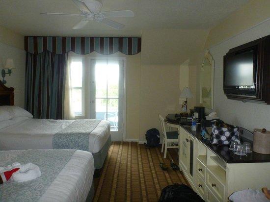 Disney's Beach Club Resort: Our Room