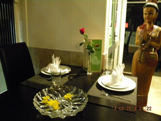 Suk Jai Thai Restaurant: Nice Dinner in a Nice Setting